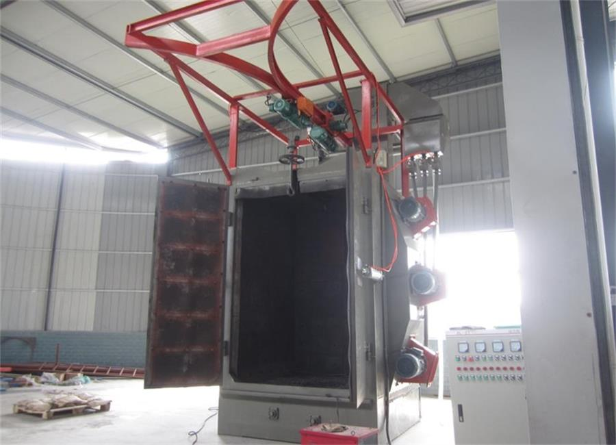 Shot peening machine sand blasting machine factory supply