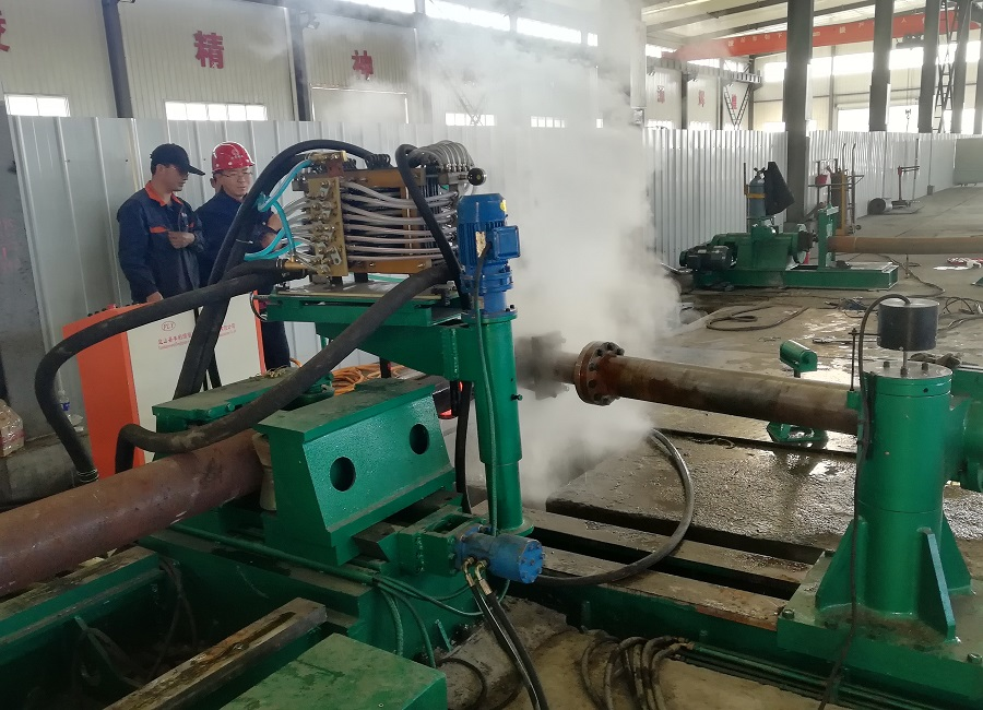 Induction pipe tube bending machine made in China